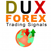 dux forex logo app for mobile white background